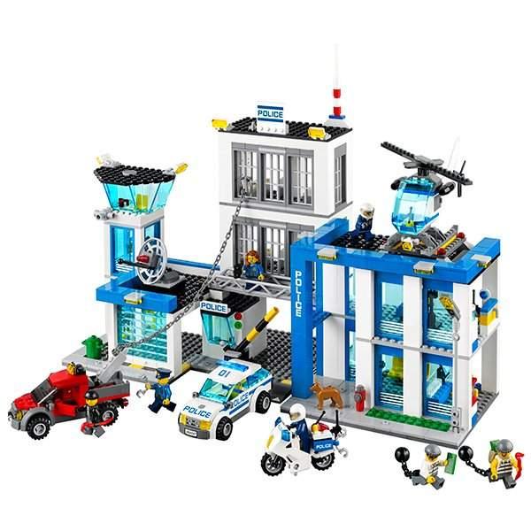 Лего полицейский участок купить караганда