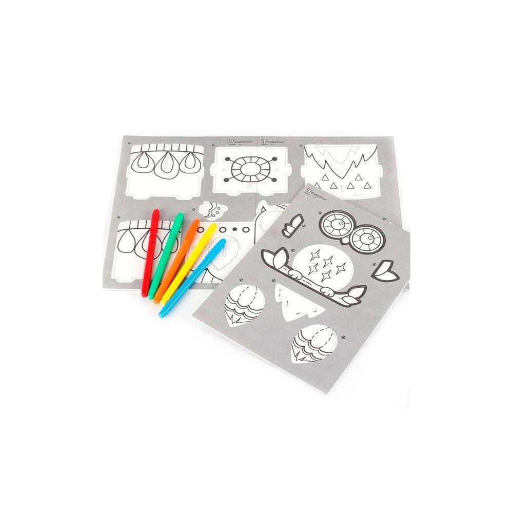 3D пазлы Cubic Fun P695h